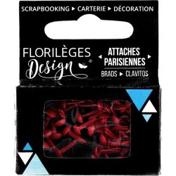 Mini Brads - Attaches Parisiennes - Florilèges - Garance