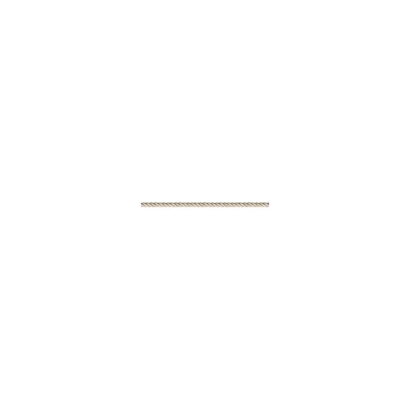 Cordelière blanche 0.5 cm