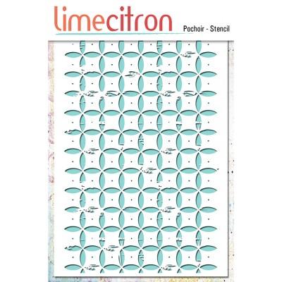 Pochoir Lime Citron 10x15 cm - Floral