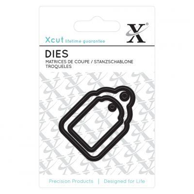 Dies XCut - Mini - Étiquettes cadeaux