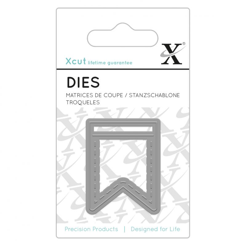 Dies XCut - Micro - Fanion pointillé