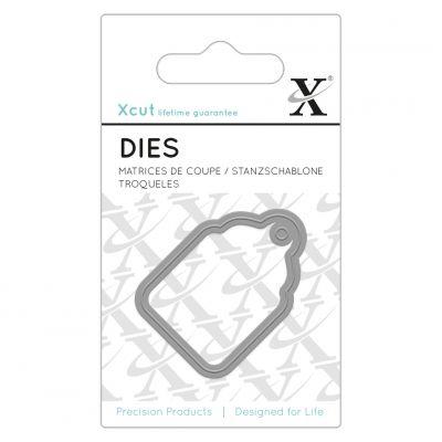 Dies XCut - Micro - Étiquette Cadeau solo