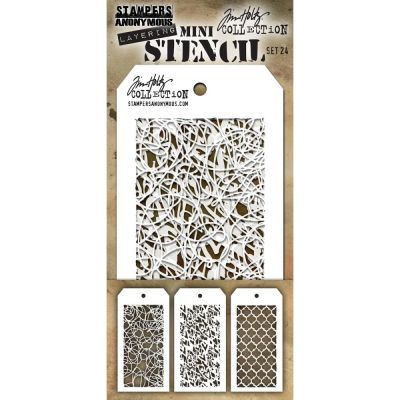 Mini Layered Stencil Tim Holtz - Set 24