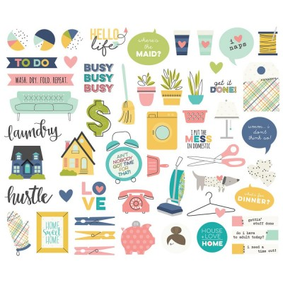 Die Cuts - Bits & Pieces - Domestic Bliss