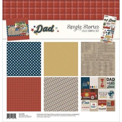 Pack 30x30 - Simple Stories - Dad