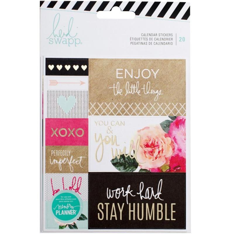 Stickers Calendar Heidi Swapp
