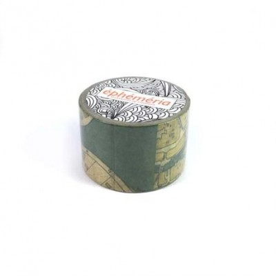 Masking Tape Ephemeria - Carte ancienne