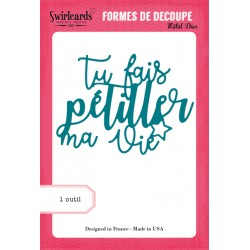 Dies Swirlcards - Pétiller