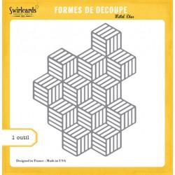 Dies Swirlcards - Motif Cubes
