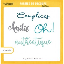 Dies Swirlcards - Authentique