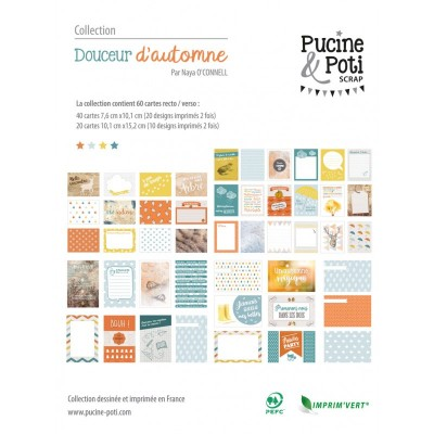 Cartes PL Pucine & Poti - Douceur d'automne