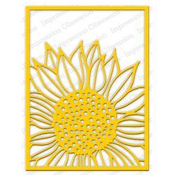 Die Impression Obsession - Sunflower Background