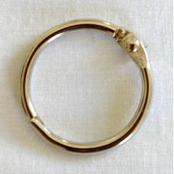 Anneau argenté 2.7 cm