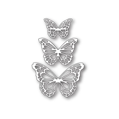 Die Memory Box - Potenza Butterfly Trio