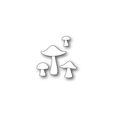 Die Poppystamps - Mushrooms and Toadstools