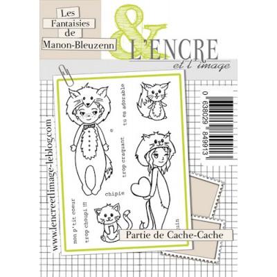 Tampons L'Encre & l'Image - Les Fantaisies de Manon-Bleuzenn - Partie de Cache-Cache