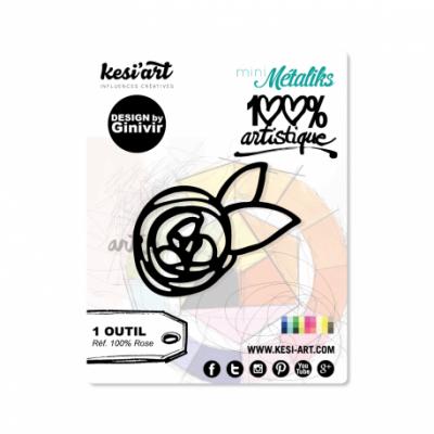 Dies MetaliKs - 100% Artistique - Rose