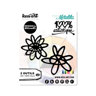 Dies MetaliKs - 100% Artistique - Fleurs