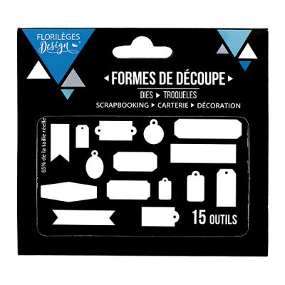 Dies Sweety Cuts - Quinze étiquettes