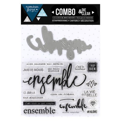 Combo Clear Die Florilèges - Ensemble