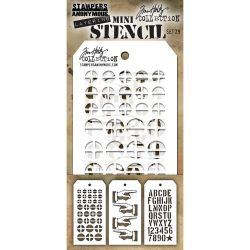 Mini Layered Stencil Tim Holtz - Set 29