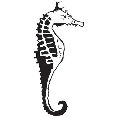 Pochoir de gaufrage KaiserCraft - Sea Horse
