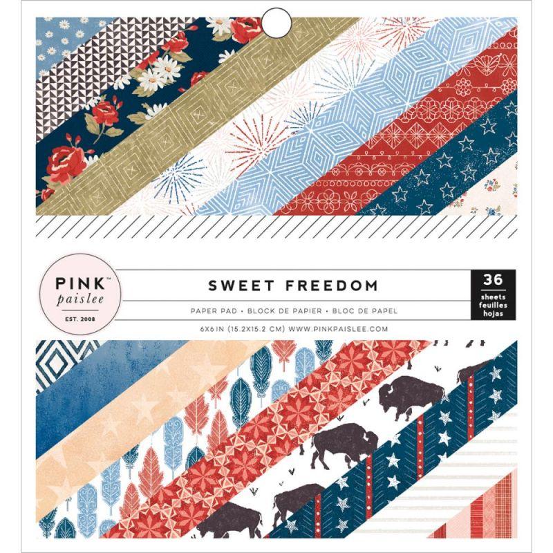 Mini Pack 15x15 - Pink Paislee - Sweet Freedom