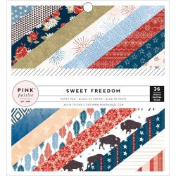 Mini Pack 15x15 - Pink Paislee - Sweet Freedom