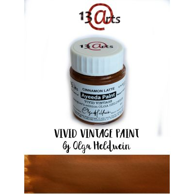 Peinture Ayeeda Paint - Vivid Vintage Cinnamon Latte
