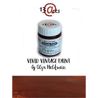 Peinture Ayeeda Paint - Vivid Vintage Red Caffeine