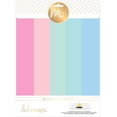 Pack de 20 cardstocks A4 Minc - Pastels