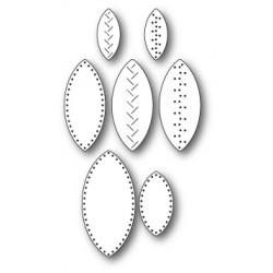 Die Memory Box - Stitched Leaves