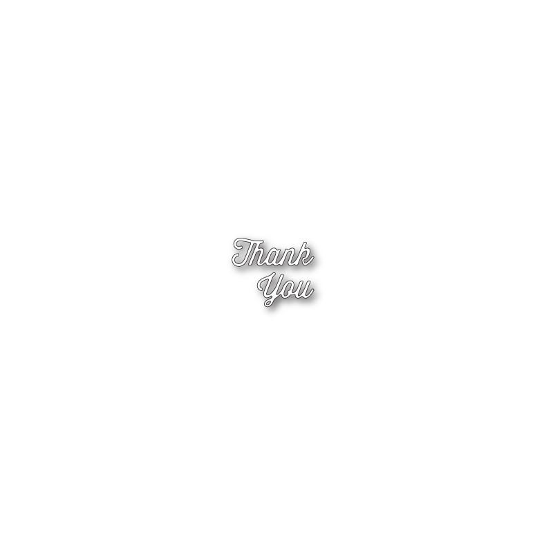 Die Memory Box - Perky Thank You