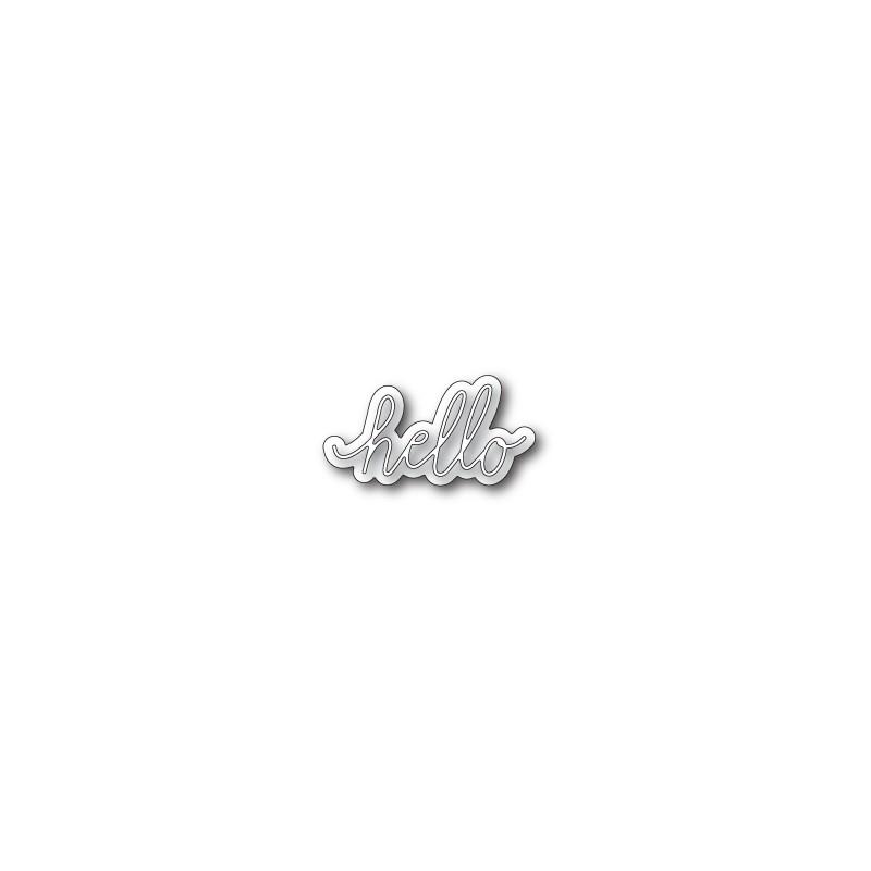 Die Poppystamps - Little (ombre) Hello