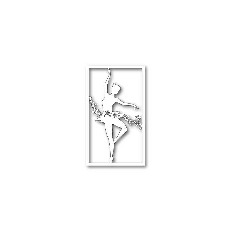 Die Poppystamps - Floral Dancer Collage