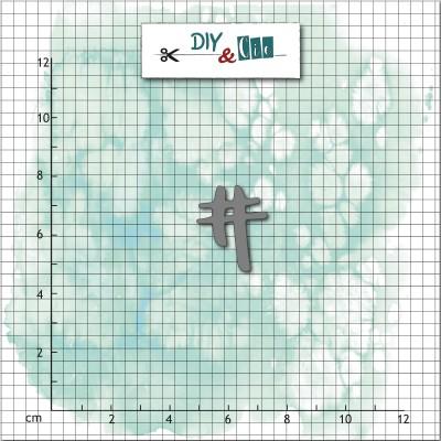 Dies DIY&Cie - Hastag