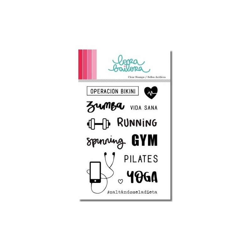 Tampons clear Lora Bailora - Gym