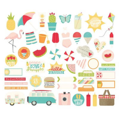 Die Cuts - Bits & Pieces - Summer Days