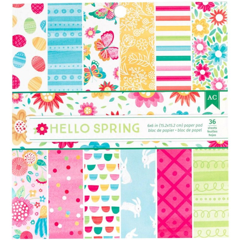 Mini Pack 15x15 - American Crafts - Hello Spring