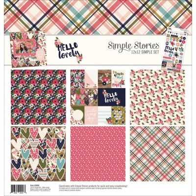Pack 30x30 - Simple Stories - Hello Lovely