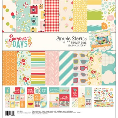 Pack 30x30 - Simple Stories - Summer Days