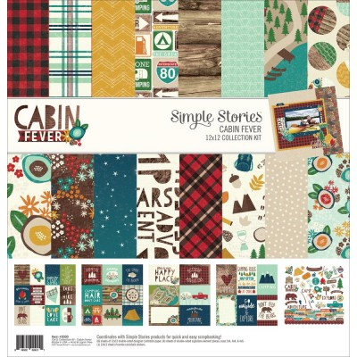 Pack 30x30 - Simple Stories - Cabin Fever