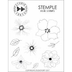 Tampons Studio Forty - Fleurs 2
