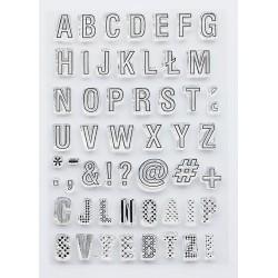 Tampons Studio Forty - Alphabet
