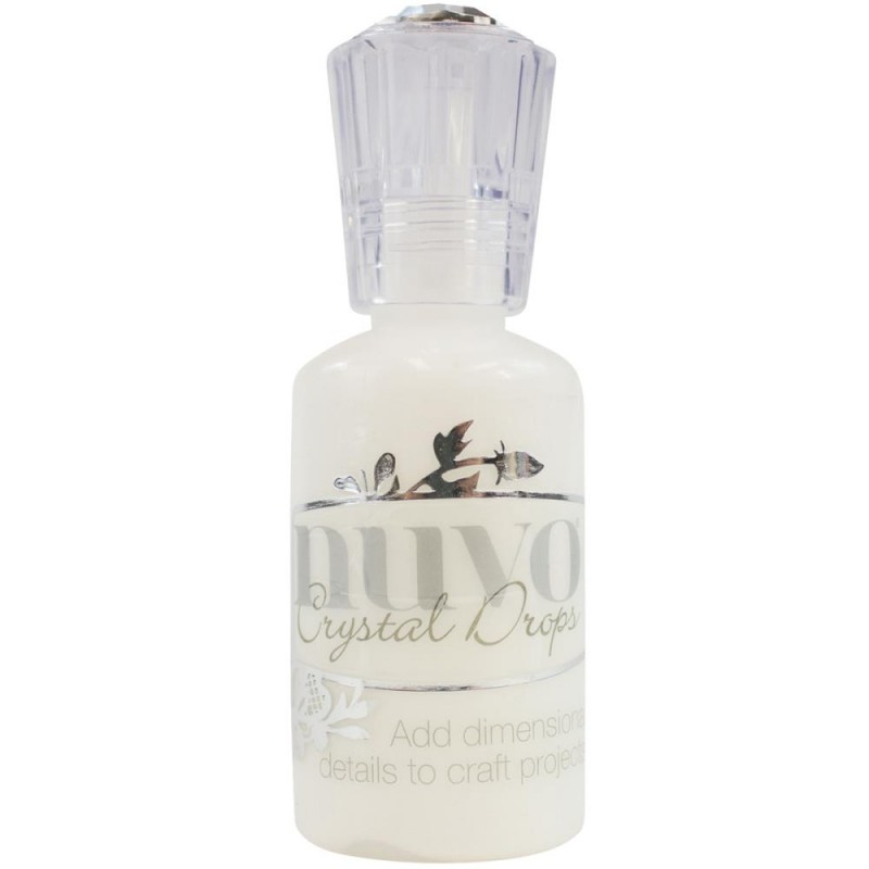 Nuvo Crystal Drops - Gloss White