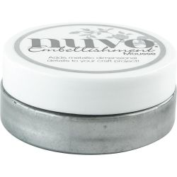 Pâte de texture Nuvo Embellishment Mousse - Gunmetal Grey