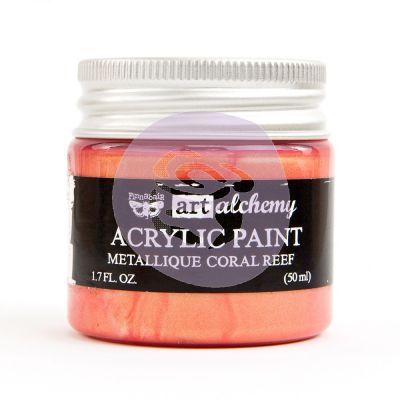 Peinture Art-Alchemy - Metallique Coral Reef