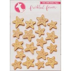 Étoiles en liège dorées Freckled Fawn
