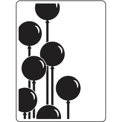 Pochoir de gaufrage Darice - Balloons (Ballons)