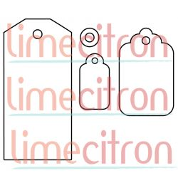 Die Lime Citron - 3 étiquettes